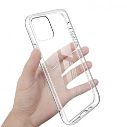 Противоударный силиконовый чехол для Iphone 11 (Прозрачный)