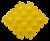 Детские массажные (ортопедические) модульные коврики 8шт «ОРТО ПАЗЛ Микс Ёжики» коврик массажный