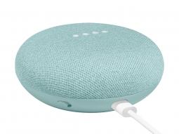 Умная колонка Google Home Mini, Aqua Blue (бирюзовый)