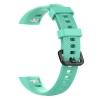 Сменный силиконовый ремешок для Huawei Honor Band 4 зеленый