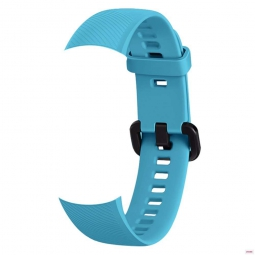 Сменный силиконовый ремешок для Huawei Honor Band 4 голубой