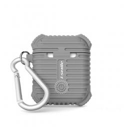 Силиконовый чехол для AirPods i-Smile Silicone Protective Case серый