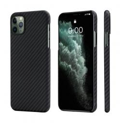 Чехол PITAKA MagCase для iPhone 11 Pro Max черно-серый в полоску