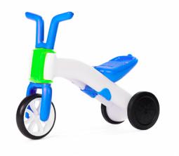 Первый беговел-велобег для самых маленьких Chillafish Bunzi (для детей от 1-1,5 года) (сине-зеленый)