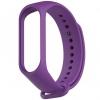 Силиконовый ремешок для Xiaomi Mi Band 5 (Фиолетовый)