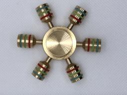 Игрушка-антистресс cпиннер металлический штурвал