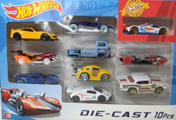 Набор Hot Wheels автомобили 10шт