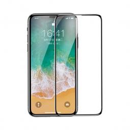 Защитное 3D стекло для iPhone X и для iPhone XS с олеофобным покрытием