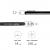 Чехол Pitaka Magcase для iPhone XS черно-серый