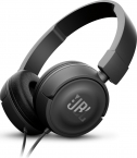 Наушники с микрофоном JBL T450 накладные Black