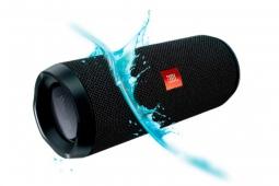 Беспроводная акустика JBL Flip 4 Black (Черный)