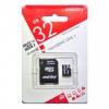 Карта памяти micro SDHC 32Gb SmartBuy Class 10 UHS-I + адаптер