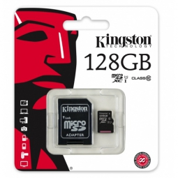 kingston 128gb microsdhc class 10