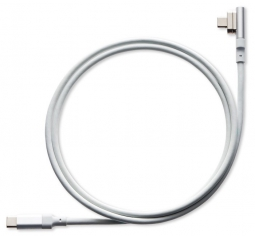 Магнитный кабель MagaBolt MagX USB-C (с магнитным адаптером) white