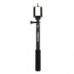 Универсальный телескопический монопод Momax Selfifit c Bluetooth-пультом 90 см, цвет Black (черный)