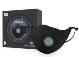 Маска-респиратор Xiaomi AirPOP Light 360 Degree Air Wear PM2.5 Anti-haze Masks, 4 шт., black