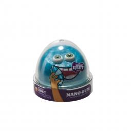 Nano gum, меняет цвет с серебряного на голубой 50гр