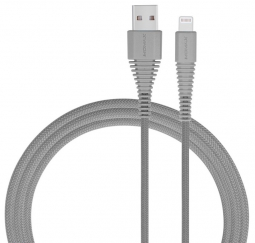 Кабель MoMax Tough Link Cable MFi 120cm Lightning Gray