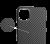 Чехол K-Doo Kevlar Case для iPhone 12 Pro Max чёрный карбон