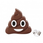 Портативное зарядное устройство Emoji Power Bank Poo 15000mAh