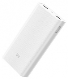 Аккумулятор внешний Xiaomi Mi Power Bank 2C 20000 мАч (Белый)