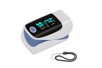 Пульсоксиметр AB-80 на палец для измерений пульса и кислорода в крови