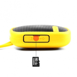 Портативная акустика Remax RM-X2 Mini Yellow