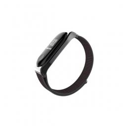 Ремешок Mijobs Nylon Loopback Strap для Xiaomi mi Band 3 Black (черный)