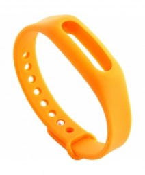 Сменный Ремешок для Xiaomi Mi Band 2 (оранжевый)