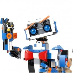 Электромеханический радиоуправляемый конструктор MOULD KING Гусеничный Робот 13063, 635 деталей