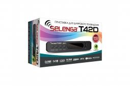 Цифровая приставка DVB-T2 Selenga T42D