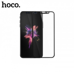 Защитное стекло для iPhone X, Hoco kase Series 3D Tempered Glass