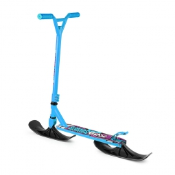 Самокат-снегокат с лыжами и колесами Small Rider Combo Runner BMX синий