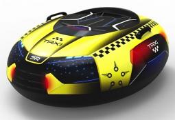 Надувные санки-тюбинг с сиденьем и ремнями Small Rider Asteroid Rescue Team (такси)