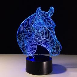 """3D ночник """"Лошадь"""""""