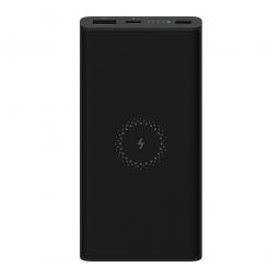 Внешний аккумулятор с поддержкой беспроводной зарядки Mi Wireless Power Bank Youth Edition 10000 (WPB15ZM) Черный