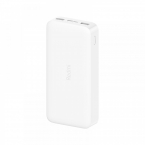 Внешний аккумулятор Xiaomi Redmi Power Bank 10000 mAh white (белый)
