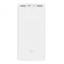 Внешний аккумулятор Xiaomi ZMI Aura QB821 Power Bank 20000 mAh (White/белый)