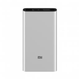 Внешний аккумулятор Xiaomi Mi Power Bank 3 10000 mAh Silver (PLM12ZM)