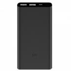 Внешний аккумулятор Xiaomi Mi Power Bank 2i 10000 mAh 2usb (черный)