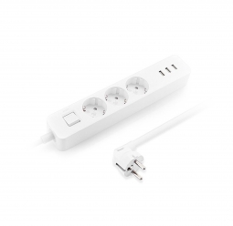 Удлинитель Xiaomi Mi Power Strip 3 USB 3 розетки (Global) (XMCXB04QM)