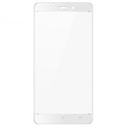 Защитное стекло 3D для Xiaomi Redmi 4 Белое