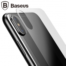 Защитное стекло задней крышки Baseus для iPhone X