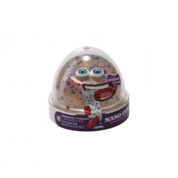 Nano gum, Жидкое стекло с конфети с ароматом Барбариса 50гр